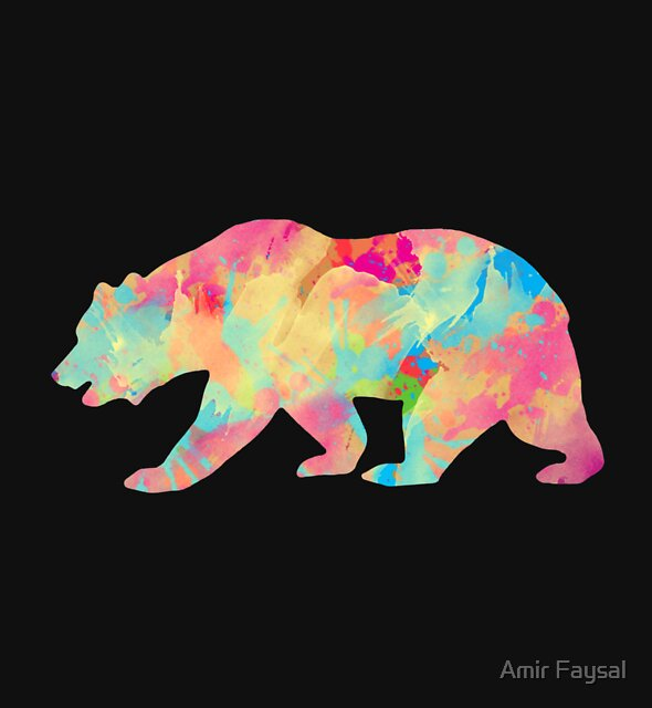 Abstract Bear by Amir Faysal