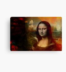 The Mona in Me Canvas Print