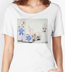 Pink Elephants Make You Think! Women's Relaxed Fit T-Shirt