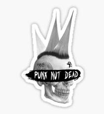 Punx not dead Sticker