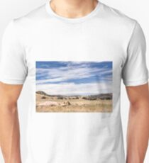 Dry meadows near Julian, CA Unisex T-Shirt