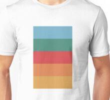 Wes Anderson Palette (Darjeeling Limited) Unisex T-Shirt