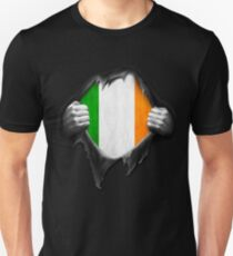 Ireland Flag. Proud Irish Unisex T-Shirt