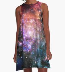 Galaxy A-Line Dress