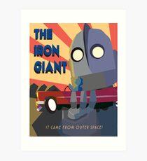 Giant Wall Art the iron giant: wall art | redbubble