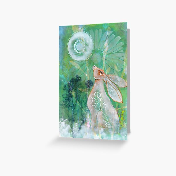 Among the grasses Greeting Card