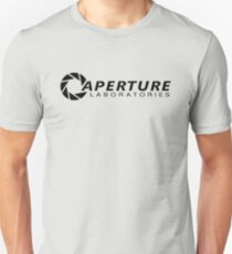 Camiseta ajustada Aperture Laboratories