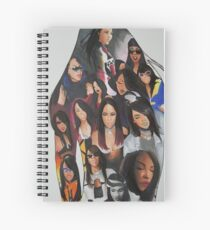 AALIYAH Music Jam Spiral Notebook