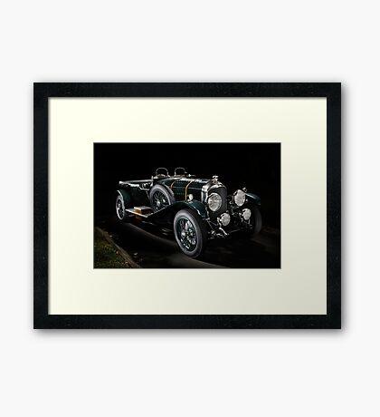 4,5 Litre Bentley Le Mans Framed Print