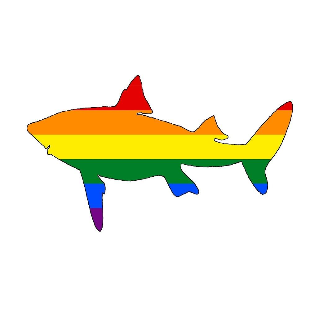 Rainbow Shark by DelirusFurittus