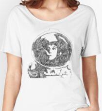Ellen Ripley Pencil Portrait (Graphic T-shirt) Women's Relaxed Fit T-Shirt