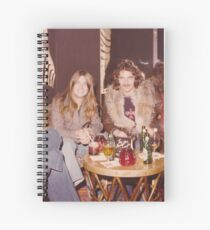 Chilling at the Waldorf Astoria Hotel New York Spiral Notebook