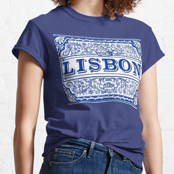 Azulejo Lisbon Azulejos Lisboa Classic T-Shirt