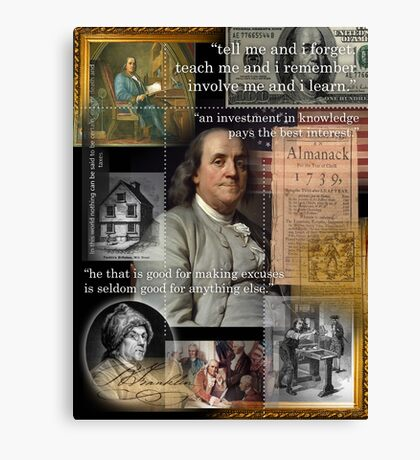 franklin Canvas Print
