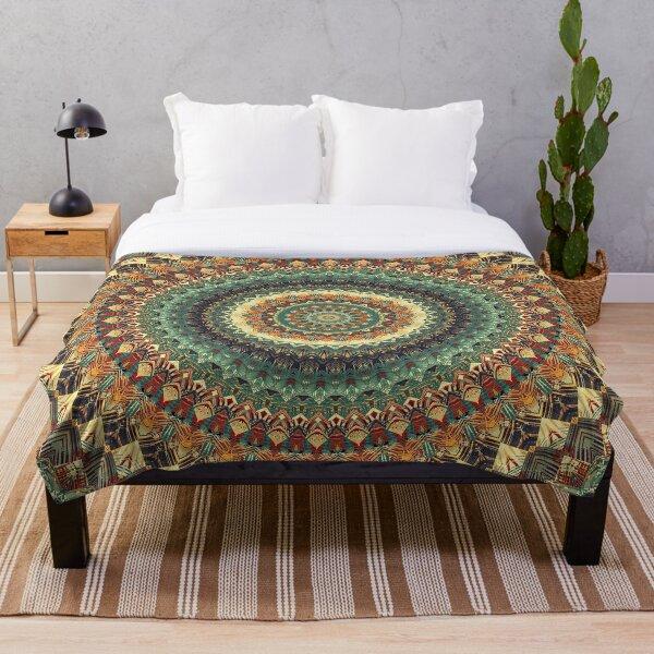 Mandala 163 Throw Blanket