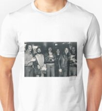 Hotel Bar in Kansas City Holiday Inn. The Band Rehydrating after the Gig. Unisex T-Shirt