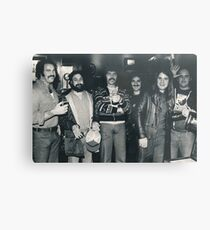 Hotel Bar in Kansas City Holiday Inn. The Band Rehydrating after the Gig. Metal Print