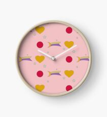 Hearts and Moons Clock