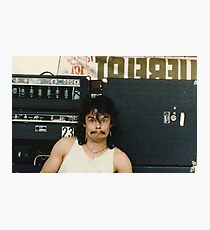 Drummer 'Philthy Animal' Phil Taylor Photographic Print