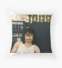 Drummer 'Philthy Animal' Phil Taylor Throw Pillow