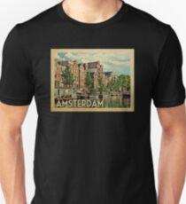 Amsterdam Netherlands Vintage Travel T-shirt Unisex T-Shirt 22b67069c