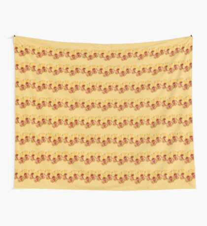 Pea Flower Wall Tapestry