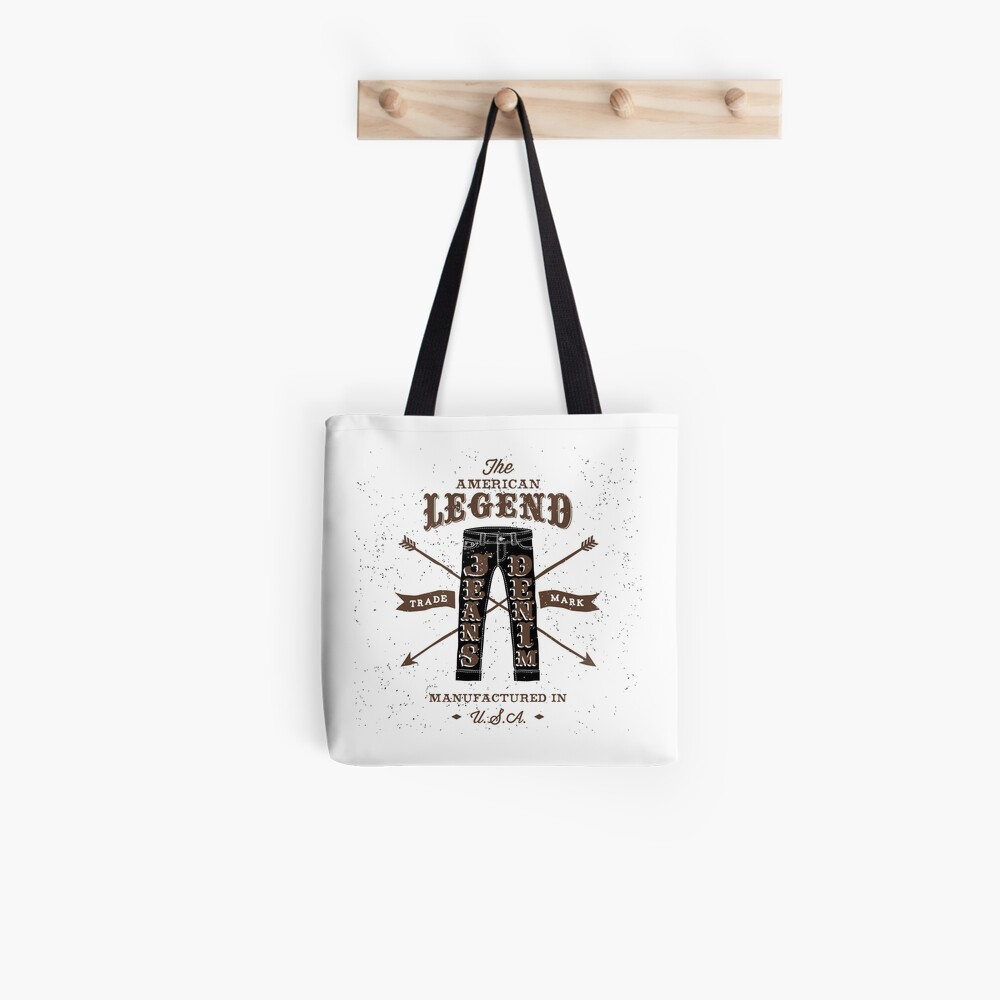 Jeans Legend Tote Bag