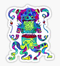 Sliced Monster Sticker