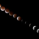 Total Lunar Eclipse October 2014 by Peter Eshuis