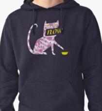 Now Cat Pullover Hoodie
