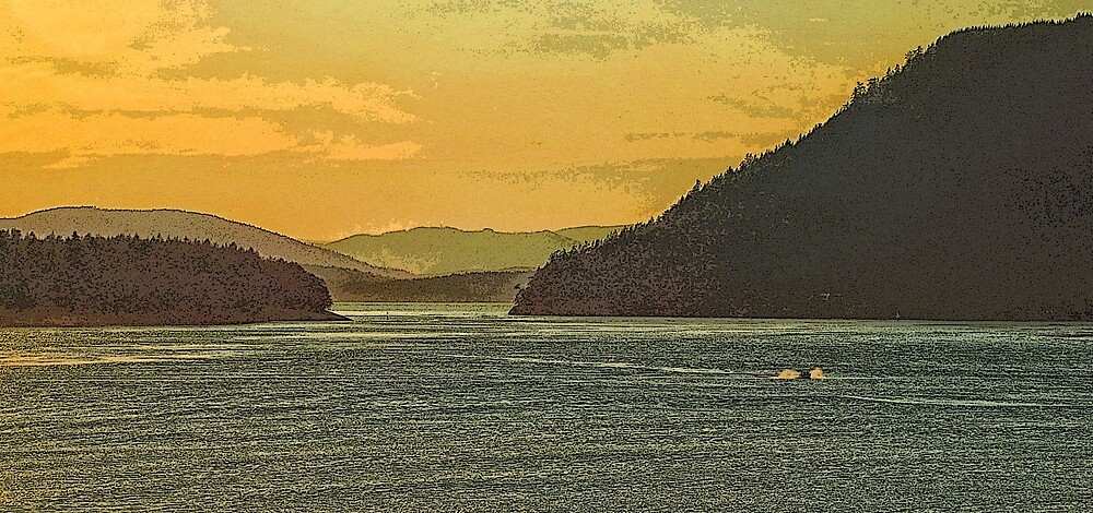 Gulf Islands 25 by Terry Krysak