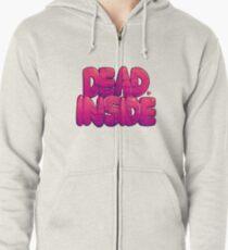 Dead Inside Zipped Hoodie