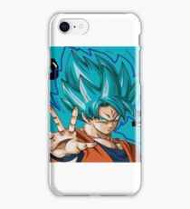 GOKU SSJ BLUE iPhone Case/Skin