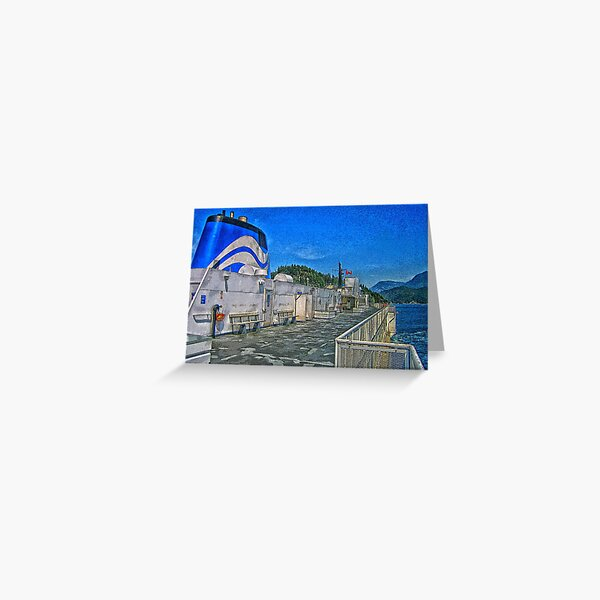 BC Ferry Greeting Card