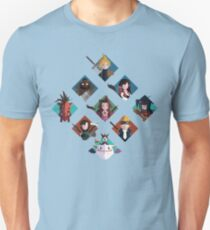 Final Fantasy cute tiles Unisex T-Shirt