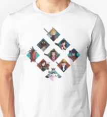 Final Fantasy cute tiles Unisex T-Shirt