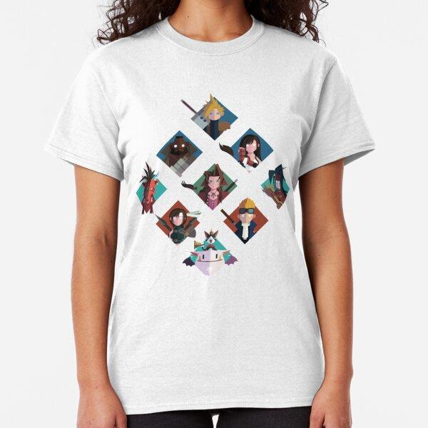 Final Fantasy cute tiles Classic T-Shirt