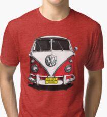 IF THE VAN IS A ROCKIN...  Tri-blend T-Shirt