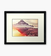 Scottish winter sunshine Framed Print