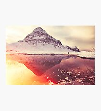 Scottish winter sunshine Photographic Print