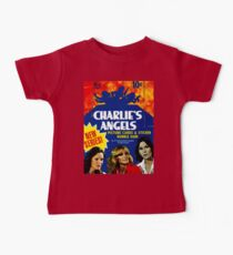 Vintage Charlie's Angels Topps Trading Cards Box Baby Tee