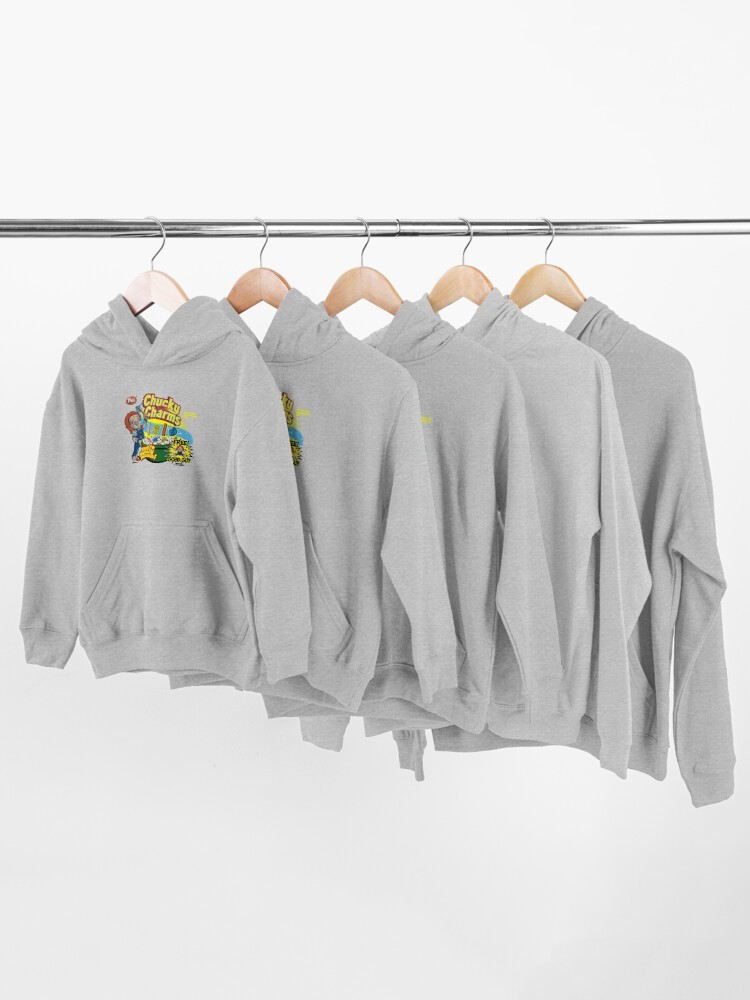 Alternate view of Chucky Charms Kids Pullover Hoodie