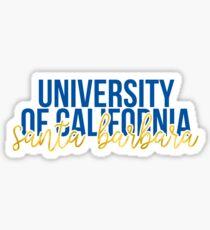 University of California - Santa Barbara - Style 13 Sticker
