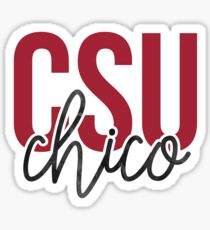 CSU Chico - Style 13 Sticker