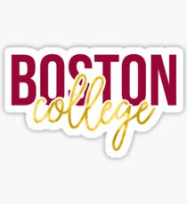 Boston College - Style 13 Sticker