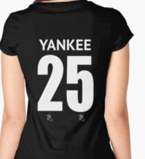 Yankee Women's Fitted Scoop T-Shirt