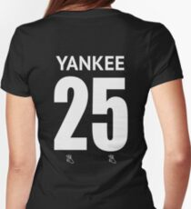 Yankee Womens Fitted T-Shirt