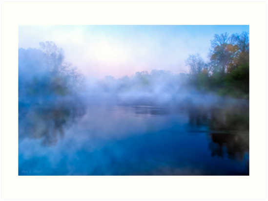 Water Colors On The Flint River - Georgia Landscapes by Mark Tisdale
