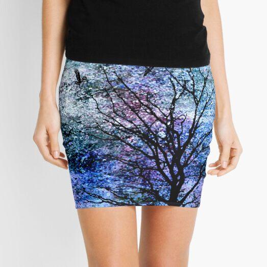 Birds of Midnight Mini Skirt
