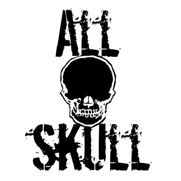 All Skull - The Force by shadowhealer